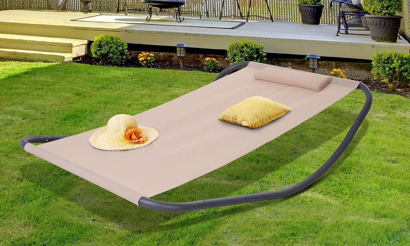 Outsunny Single Garden Rocking Bed