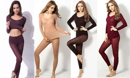 UltraThin Thermal Underwear Set: One $17.95 or Two $28