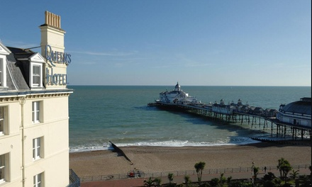 Eastbourne: 1 or 2 Nights for Two with Breakfast and Dinner at Queens Hotel