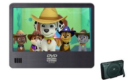 Lector de DVD portátil compacto de 7 con USB y lector de tarjeta SD