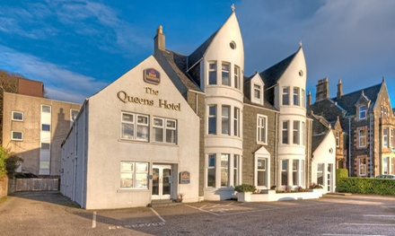 Oban: 13 Nights for Two with Breakfast and Option for Dinner and Prosecco at 4* Best Western Muthu Queens Oban Hotel