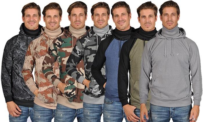 Men's Ninja-Style Fashion Hoodie