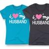 Ladies' I Love My Husband Tees