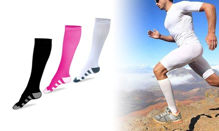 Sports Compression Socks for Men and Women: One $12 or Two $19 Pairs