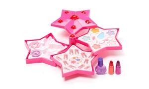Star Case Pretend Play Toy Make Up Case Kit for Children