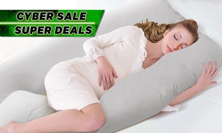 $35 for a U-Shaped Maternity Pillow with Pillow Case