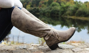 Intaglia Westport Women's Riding Boots - Wide width available.