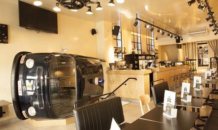 Menu en 2 services pour 2 ou 4 personnes dès 24,99 € au Kombi Bar