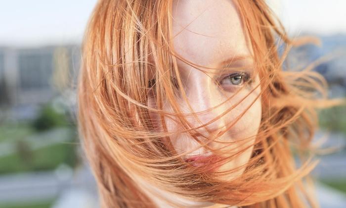 Angelique at Salon Elan - Ashwaubenon: Haircut, Highlights, and Style from Salon Elan (55% Off)