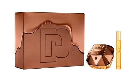 Coffret Paco Rabanne Lady Million Prive Eau de parfum 80ml et 10ml pour femme