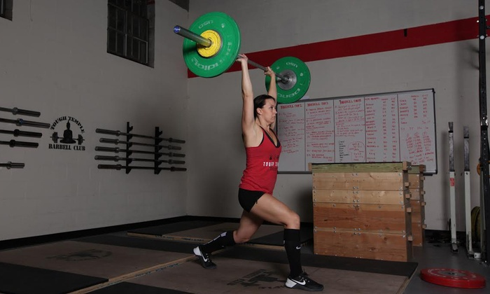 Tough Temple CrossFit - Tough Temple Crossfit: Six Class Intro Series OR 1 Month of Olympic Weightlifting Coaching at Tough Temple Barbell Club (50% Off)
