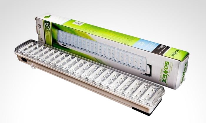 Pick Up - Múltiples sucursales: Desde $389 en vez de $475 por 1 o 2 luces de emergencia de 60 ledes para retirar en sucursal. Pagá en cuotas sin interés
