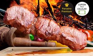 Churrascaria Los Pampas Goiânia: Churrascaria Los Pampas Goiânia: rodízio de churrasco com buffet no almoço ou jantar para até 4 pessoas