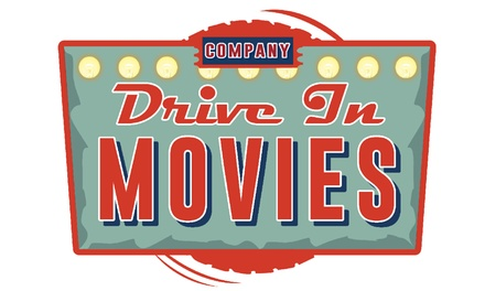 Drive In Movies Ticket for Car on 16 17 August at at Holmsley Aerodrome