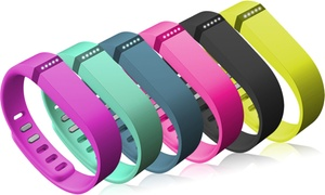 Fitbit Flex Activity and Sleep Tracker with Three Wristbands at Fitbit Flex Activity and Sleep Tracker Bundle, plus 6.0% Cash Back from Ebates.