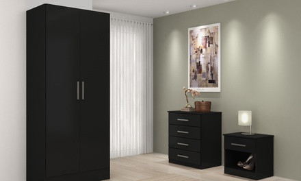 High-Gloss Bedroom Furniture