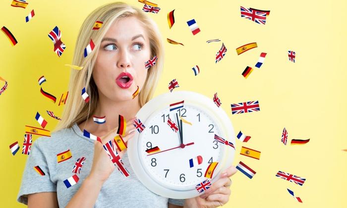 Captain Language: 6, 12 or 24+6 Month Unlimited Online Language Course from Captain Language (Up to 95% Off)