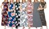 Acting Pro Short Sleeve Side-Slit Maxi Dress. Plus Sizes Available.