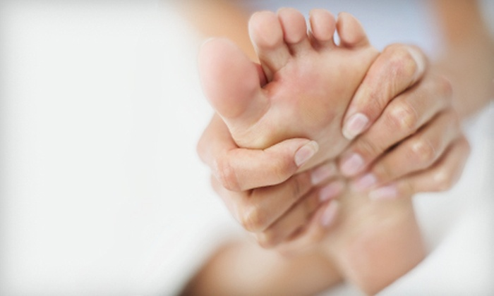 Blue Skyz Still Waters, LLC - Jackson: One or Three One-Hour Reflexology Hand and Foot Massages at Blue Skyz Still Waters, LLC (Up to 56% Off)