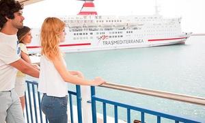 Trasmediterránea : Billetes de ferry ida y vuelta de Alcudia a Ciudadela o viceversa desde 4,76 € en Trasmediterránea