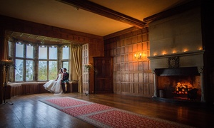 Lympne Castle Enterprises - Non-Accommodation: Wedding Package for Up to 45 or 100 Guests at Lympne Castle (Up to 63% Off)