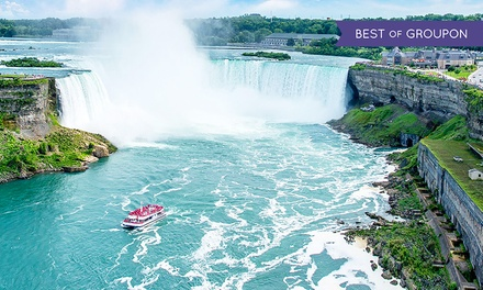 Stay with Wine Tastings, Tours, and Dining Credits at Wyndham Garden Niagara Falls Hotel in Ontario. Dates into May.