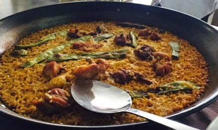 Menú para 2 o 4 personas con entrante, principal de arroz, postre y botella de vino desde 24,95 € en Marisquería Baro