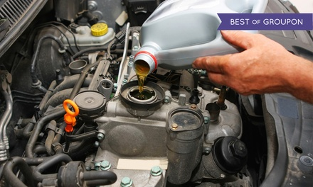 Oil Change with Optional Brake Service at Fletchers Tire & Auto Service (Up to 62% Off)