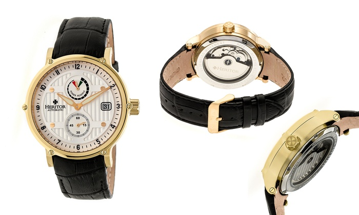 Heritor Automatic Mens Watches Leopold 3