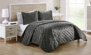 Micromink Reversible Quilt Set (2- or 3-Piece)