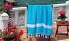 100% Turkish Cotton Diamond-Weave Beach Fouta Towels
