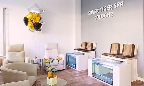 Fisch-Spa für die Füße, optional mit Fuß-Massage, im Silver Tiger Spa Cologne