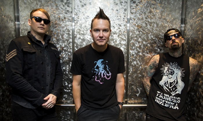 Blink 182 with A Day To Remember with All American Rejects on August 9, at 7 p.m.