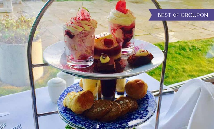 Sparkling Afternoon Tea for Two or Four at The Waterside House Hotel