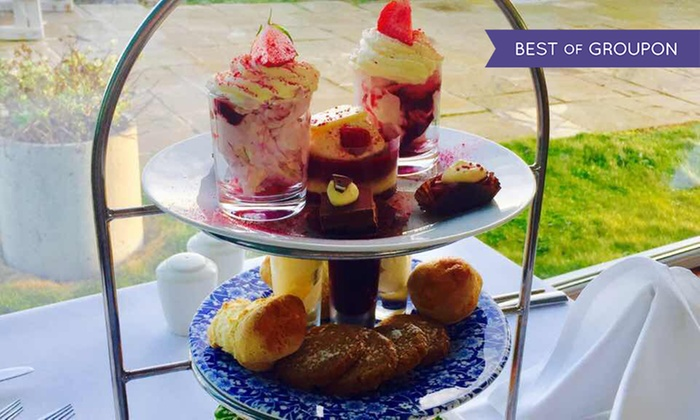 The Waterside House Hotel - Donabate On-The-Beach: Sparkling Afternoon Tea for Two or Four at The Waterside House Hotel