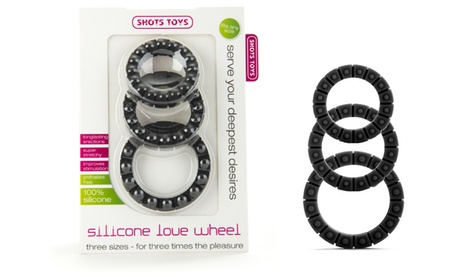 Shots Toys Silicone Love Wheel C-Ring (3-Pack) ced7dc7c-43ff-11e8-8d33-52540562940f