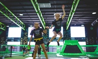 One-Hour Trampoline Jumping Session for One, Two or Four at Flip Out Birmingham (Up to 36% Off)