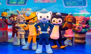 Octonauts Live!: The Octonauts Live! on Friday, October 28 at 6 p.m.