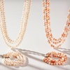 $28.99 for a Pearl Necklace and Bracelet Set