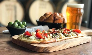 Food and Drink for Two or Four or More at Royal Docks Brewing Co. (Up to 45% Off)