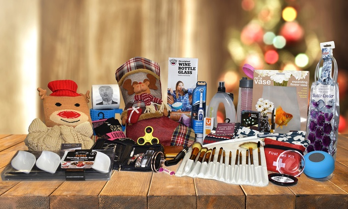 Tactical Christmas Stocking Stuffed.Christmas Stocking Mystery Deal Groupon
