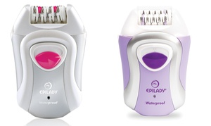 Epilady Waterproof Epilator Pink or Purple