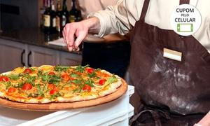 Pizza Express: Buffet de pizza em domicílio para 30, 50 ou 80 pessoas com a Pizza Express