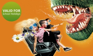 Amusement Warehouse : 5D Theatre Ride from R50 for Two at Amusement Warehouse (Up to 60%)