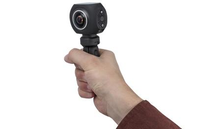 1 ou 2 Caméras 360° 4K Ultra HD Sports, imperméables à leau