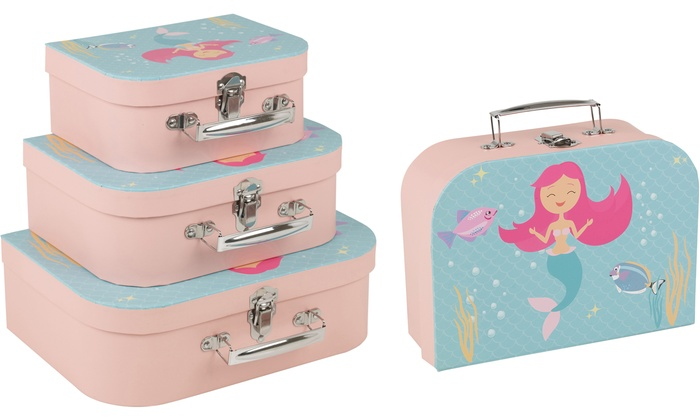 Three-Piece Kids' Suitcase Set