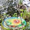Hanging Glass Bird Feeders - Butterfly or Hummingbird
