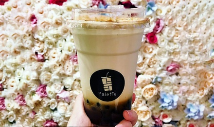 One ($2.99) or Two Milk Teas ($5.98), or One ($4.50) or Two Fruit Teas ($9) at PaletTé Tea (Up to $15 Value)