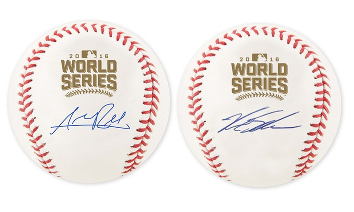 Chicago Cubs Autographed 2016 World Series Baseballs: Chicago Cubs Autographed 2016 World Series Baseballs