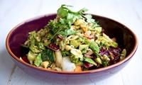Découvrez un menu 100% Raw Food, en 5 services pour 2 ou 4 personnes dès 39,99€ au restaurant Amalfi